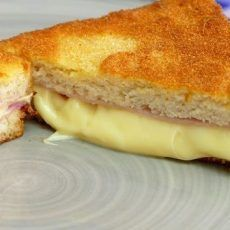 BREADED FRIED CHEESE SANDWICH
