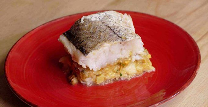 Baked stuffed hake. It is a special way for making this delicious fish. It is a healthy food ideal for any occasion. Try it at your home!