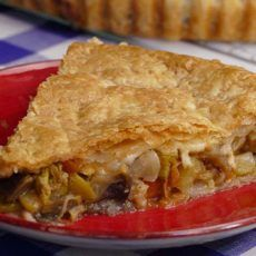 VEGETABLE STUFFED PUFF PASTRY